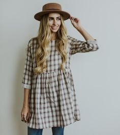 The Denver Plaid Tunic