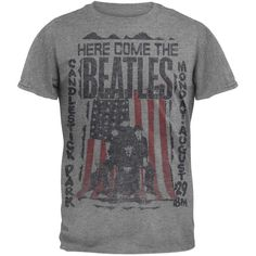 The Beatles - Here Come The Beatles Soft T-Shirt