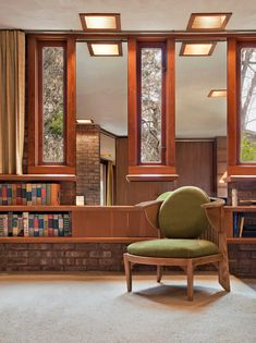 Frank Lloyd Wright. Usonian. Kenneth Laurent House. Rockford, Illinois. 1949-52