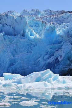 Glacier Blues 1 Print by Mo Barton. All prints are professionally printed, packaged, and shipped within 3 - 4 business days. Choose from multiple sizes and hundreds of frame and mat options. Patagonia, Alaskan Cruise, Snow Mountain, Science And Nature, Natural Wonders, Amazing Nature, Mother Earth, Beautiful Places, Beautiful Scenery