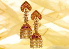 Bajirao Mastani Collection - Gold jhumkas