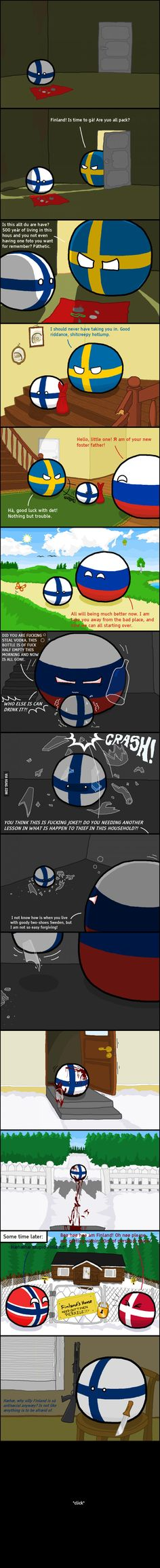 Poor Finland ;-; I WILL ALWAYS LOVE YOU FINLAND <3<yes me too