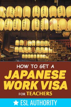 Teachers need a work visa in order to teach legally in Japan - here is how to get one complete with the required forms and process breakdown.