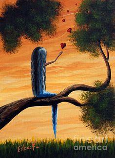 It Feels So Good To Say I Love You By Shawna Erback Print by Shawna Erback