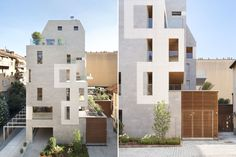 K19 Residential Complex (2014) in Milan, Italy, by LPzR Architetti Associati