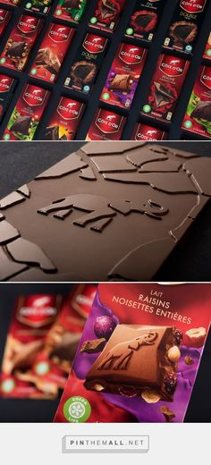 Côte d'Or chocolate - Packaging of the World - Creative Package Design Gallery - http://www.packagingoftheworld.com/2016/07/cote-dor-chocolate.html