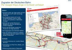 TWT Trendradar: Per #Google #Maps Züge in Echtzeit verfolgen. http://de.slideshare.net/TWTinteractive/zugradar-der-deutschen-bahn