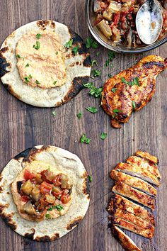 Spiced Moroccan Chicken Wraps