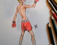 """Check out new work on my @Behance portfolio: """"boxer"""" http://be.net/gallery/60341769/boxer"""