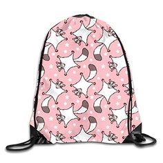 low priced 40444 34660 Sweet Sugar Glider With Flowers PinkDrawstring Backpack Bag Sport Gym Sack  For Hiking Yoga Swimming Travel Beach