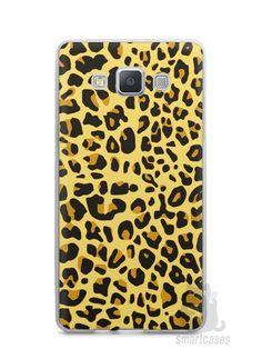 Capa Capinha Samsung A7 2015 Estampa Onça #5 - SmartCases - Acessórios para celulares e tablets :)