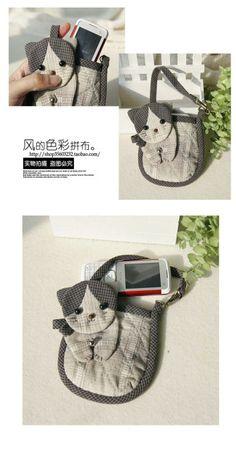 Catbag - free pattern