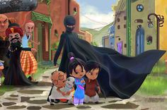 Wonder Woman and Supergirl now have a Pakistani counterpart in the pantheon of female superheroes - one who shows a lot less skin...Meet Burka Avenger: a mild-mannered teacher with secret martial arts skills who uses a flowing black burka to hide her identity as she fights local thugs seeking to shut down the girls' school where she works.