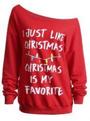 christmas plus size graphic top - Christmas Slogans