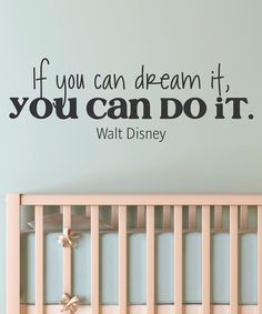 Take a look at this Black Dream It Do It Wall Quote on zulily today!