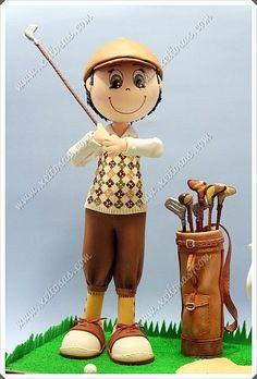 Fofucho golfista clásico ganador del torneo | by Xeitosas
