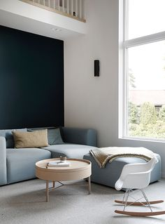 Enebolig, Tønsberg - Nyfelt og Strand Interiørarkitekter Modern Interior, Interior Design, Living Spaces, Living Room, Dining, Furniture, Bedrooms, Interiors, Home Decor