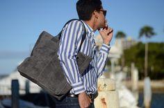 Boboli Tote Leather Bag in suede @ www.bidinis.com