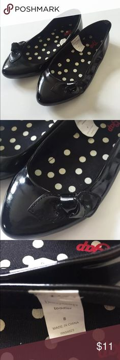 Toddler size 8 black dress shoes casual