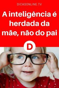 Bebe inteligente | A inteligência é herdada da mãe, não do pai | Porque eu herdei da minha mãe!