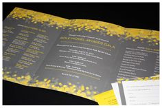 You can probably save the envelope on this invitation and have tons of space for text