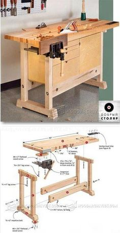 Мастерская Добрый Столяр #woodworkingbench