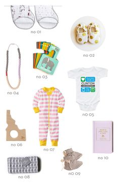 Ten unique baby shower gifts by Thrifty Littles Personalized Baby Gifts, Personalized Products, Newborn Baby Care, Unique Baby Shower Gifts, Baby Must Haves, New Gadgets, Baby Essentials, Teething Necklace, Matilda