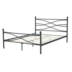 Rest Rite Bailey Full-Size Platform Bed in Matte Black-MFRRBAIBEDDB - The Home Depot