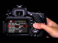I love my new camera! Canon 60D This video is very helpful for beginners! MUST pin!