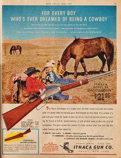 Ithaca Model 49 Saddle Gun, 1962 Ad | Flickr - Photo Sharing!
