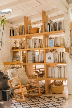 A Topanga Family Home Filled With California Light Cup Of Jo, Miller Homes, Deco Design, Home Interior, House Tours, Shelving, Beautiful Homes, Living Spaces, Home And Family