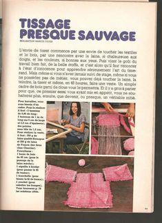 Textiles, Vintage Crafts, Textile Art, Diy For Kids, Blog, Arts And Crafts, Couture, Crochet, 1975