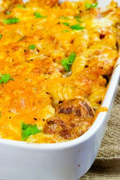 Low Syn Chicken & Chorizo Pasta Bake - Food and drink - Slimming World Pasta Bake, Slimming World Recipes Syn Free, Slimming Eats, Chorizo Pasta Bake, Chicken And Chorizo Pasta, Baked Pasta Recipes, Chicken Recipes, Cooking Recipes, Chicken Meals
