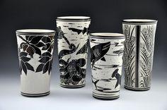 Katherine Hackl Sgraffito Pottery