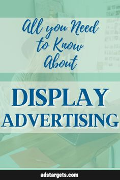 This post discusses most of the things you need to know about display advertising, how it works, how you can benefit from it and how to design great display ad campaigns to grow your online businesses. #advertsing #digital advertising #online advertising strategy #advertising design ideas #advertising campaign #advertising creative #advertising ideas creative Advertising Strategies, Advertising Ideas, Display Advertising, Online Advertising, Creative Advertising, Advertising Campaign, Advertising Design, Online Marketing, Youtube Advertising