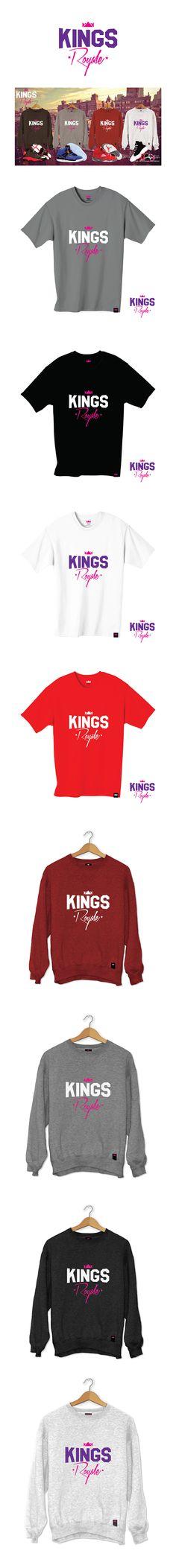 Kings Royale - Product Range & Branding on Behance Streetwear Brands, Street Wear, Behance, Range, Branding, Design, Cookers, Brand Management, Ranges
