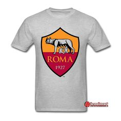 Atletico Roma F.C Personalized Official Logo Man's T-Shirts T Shart, Soccer League, Basic Tees, Shirt Price, Retro Fashion, Shirt Style, Hoodies, Soccer Tips, European Football