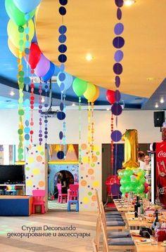 Радужный день рождения! и другие цветные идеи   Детский праздник: декор, бесплатные шаблоны
