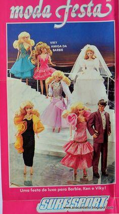Ana Caldatto : Barbie Moda Festa e Alta Costura catálogo Barbie Estrela de 1990