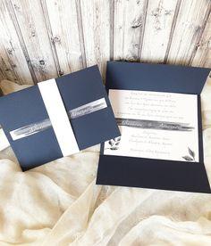 Προσκλητήριο γάμου χρώματος μπλε ναυτικό σε διαστάσεις 17×13 εκ. κλειστό και 23×17εκ.  ανοιχτό. Το χαρτί είναι blue navy 215gr και το εσωτερικό ανάγλυφο  280gr.  #gamos #γάμος#γαμος#prosklitirio#προσκλητήριο#πρόσκληση#προσκλητηριογαμου#prosklitiriogamou#navy#blue