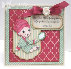 Card for Stampin' Sisters in Christ challenge.