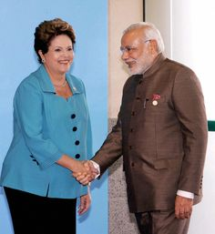 PM with the President of Brazil