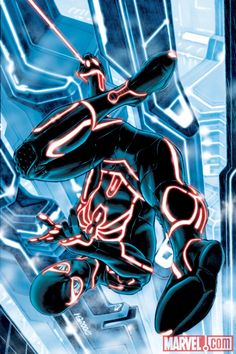 Marvel Superheroes Re-Imagined in the World of TRON! — GeekTyrant