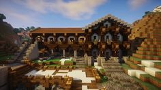 My Latest Creation... A Medieval Tavern! : Minecraft