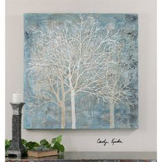 Muted Silhouette a Paintings by Uttermost - Maison Living