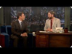 Jimmy Fallon: Zach Galifianakis - Late Night with Jimmy Fallon