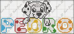 Jana Artes Manuais: Nomes prontos Cross Stitch Letters, Melting Beads, Stencils, Disney, Fictional Characters, Cross Stitch Angels, Baby Washcloth, Proper Nouns, Cross Stitch Alphabet