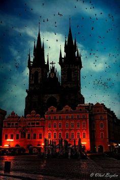 Our Lady Before Tyn, Prague. Taken by Vlad Bezden.