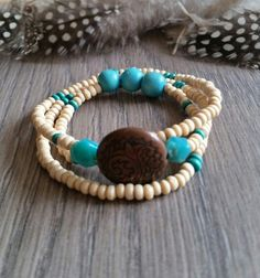 Wrap bracelet boho ibiza