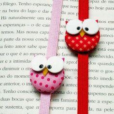 Antonietta Losito - Google+ - Questi segnalibro realizzati usando bottoni di stoffa mi…